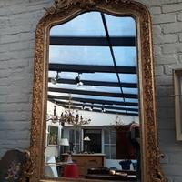 Mirror  , Napoleon III  Originel guilding