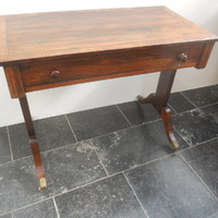 A Regency rosewood sofatable